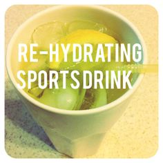 RE-HYDRATING SPORTS DRINK Perfect for when water is just not enough. This recipe is from Christine Cronau's book - Great Health is a piece of Cake. Whole Food Recipes, Keto Recipes, Sports Drink, Gluten Free Cooking, Piece Of Cakes, Easy Peasy, Enough Is Enough, Lchf, Grain Free