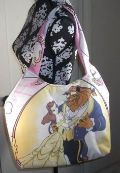 Beauty and The Beast  Purse / Tote  OOAK Handmade by kraftyminds, $23.99