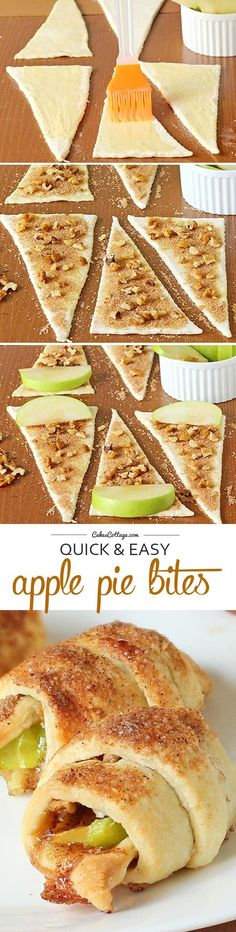 Easy Apple Pie Bites