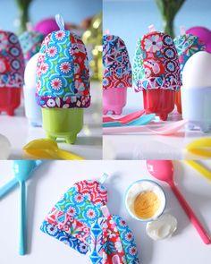 DIY:  Patchwork Eierwärmer Nähanleitung. / Jolijou Fabric / was eigenes Blog Sewing Crafts, Sewing Projects, Diy Ostern, Toy Craft, Easter Crafts, Craft Stores, Easter Eggs, Diy And Crafts, Diys