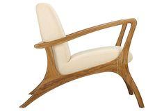 Soren Ventura Lounge Chair, Nutmeg on OneKingsLane.com