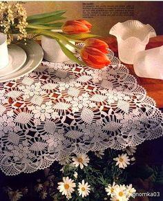 tovaglia Crochet