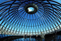 A high stakes meeting would never occur at the dome at the top of the Gherkin? Why would that ever happen!