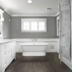 Browse this varied collection of gorgeous ideas for your bathroom cabinets to find the right material, style, and quantity for your space.