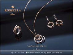 تمتعي بتصاميم كلاسيكية رائعة من روسيلا للمجوهرات. Enjoy the classic designs of ROSSELLA jewellery Rossella - Gold Land - Deira - Dubai روسيلا - أرض الذهب - ديرة - دبي Toll free: 800 824 22  Website: http://www.rossella.ae #شبكة_العروس #خاتم_الزواج #خاتم_الخطوبة #UAE #SaudiArabia #Kuwait #Bahrain #Oman  #Rossella #Dubai #Diamonds #Gold #Fancy #Stylish #Stunning #Beautiful #Designs #Rings #Bracelets #Neckless #Fashion #GCC #Gemstone #Shining #Lady #Redcarpetready #Couturestyling  #Wedding