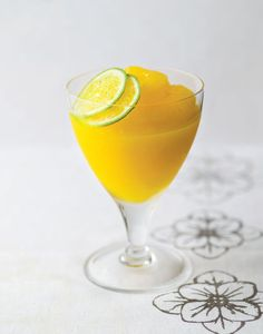 Mango daiquiri recipe from The 12 Days of Christmas by Margaret Fulton | Cooked