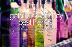 Bucket List Tumblr for Girls | ... bucket list best friends friend summer vodka drinks girls girl