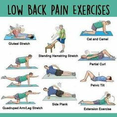 Lower back pain can be a direct result of tight hamstrings. One east remedy is low back pain exercises Psoas Release, Pelvic Tilt, Tight Hamstrings, Tight Hips, Lower Back Exercises, Low Back Strengthening Exercises, Sciatica Pain, Excercise, Yoga Fitness