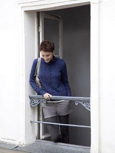 Poles Paris sweater + shorts