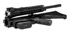There's a great argument to be made that no one needs to own an assault rifle of any kind. But if you feel the need to have one around for protection or survival, the XAR Invicta Folding Automatic Rifle is. Survival Rifle, Survival Prepping, Rifle Accessories, Ar 15 Builds, Car Insurance Tips, Tactical Bag, Hunting Rifles, Rifle Scope, Assault Rifle