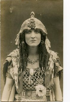 Dorothy Green as Cleopatra in 'Anthony and Cleopatra'