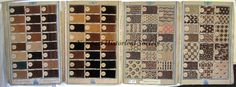 "Fabric sample books from Samuel Philips And Company, Manchester, England, Fustian and Cotton Manufacturers. Set includes swatches #44-183 in one booklet, 184-316 in another, and 317-362 in a third. Mostly 1 x 2"" swatches, brown fabrics, assorted types. Marked in ink, ""Manchester England 1771"". NHS 91.16.14"