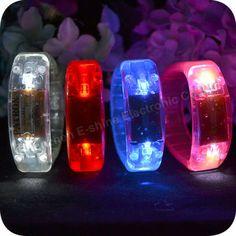 Good Quality Music Voice Activate Bracelets Light Up