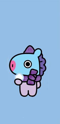 Ikon Wallpaper, Pink Wallpaper, Wallpaper Backgrounds, Disney Phone Wallpaper, Cartoon Wallpaper, I Love Bts, Cute Love, Bts Drawings, Bts Chibi