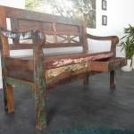 lavice z recyklovaného dreva