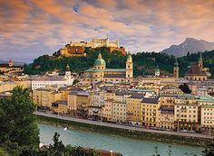 Salzburg: Austria one of the most beautiful cities I've ever been to.