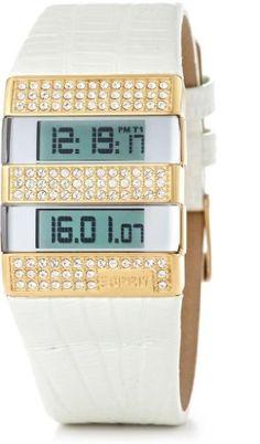Esprit - ES100692004 - Montre Femme - Quartz Digital - Multifonctions - Bracelet Cuir Blanc Esprit http://www.amazon.fr/dp/B0023W6VLU/ref=cm_sw_r_pi_dp_wZTTub11PQVNR