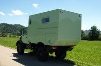 Mercedes Benz Expedition vehicles / RV // Unimog als kompaktes Fernreisemobil von Exploryx