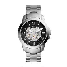Relógio Fossil Masculino Ref: Me3103/1pn Automático Esqueleto