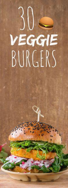 Aux lentilles corail, au quinoa, aux haricots rouges : 30 recettes de burgers veggie !