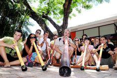 Tečaji angleščine v Noosi, Avstralija - Lexis Didgeridoo, Australia, Studio, Study