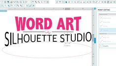 So You Can Make Word Art in Silhouette Studio! ~ Silhouette School