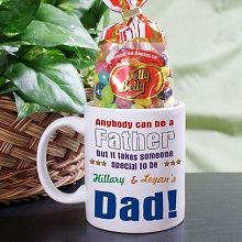 Anybody Can Be... Personalized Dad Coffee Mugs