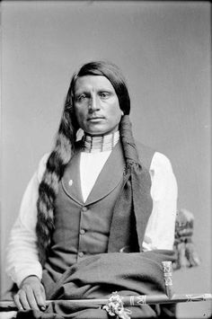 Chief Red Shirt. Oglala Lakota. ca. 1890.