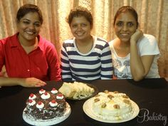 Sujata and Ami learned how to bake Black forest and Mocha Caramel Cake along with delicious cheese garlic bread!