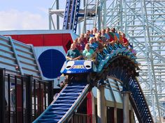 The Millenium Force at Cedar Point in Sandusky, OH - Travel Channel's Top Amusement Parks in the US