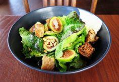 Fig and butter lettuce salad