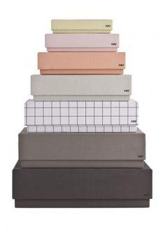 Decorate Shop - Box Box Desktop Drengefarver, 300 kr