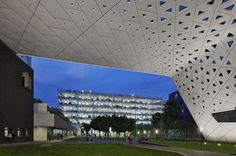 Perforated Perfection: Void Patterns Offer Architectural Sneak Peeks - Architizer