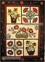 A Quilt Patch pattern Co Design Wool Applique Quilts, Wool Applique Patterns, Wool Quilts, Felt Applique, Barn Quilts, Quilt Patterns, Appliqué Quilts, Hand Applique, Mini Quilts