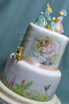 Beatrix Potter Birthday Cake by Callicious Cakes