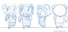 Character Turn Around - Esther by ~chrissi-pumpkin on deviantART