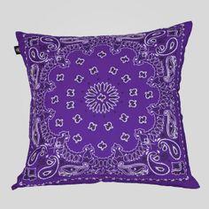 Bandana Pillow in Purple