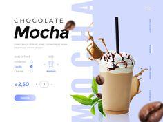 Coffee shop website by Francesca Pecoraro