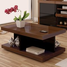 Modern And Elegant Coffee Table Designs With Storage Centre Table Living Room, Center Table, Living Room Decor, Centre Table Design, Tea Table Design, Table Designs, Small Coffee Table, Coffee Table With Storage, Esstisch Design