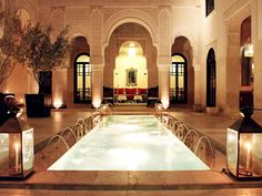 Relais & Chateaux - A subtle mix of Andalusian sumptuousness and Moroccan art de vivre, the Riad Fès reflects its prestigious past and the refined civilisation to which it belongs. #relaischateaux #morocco