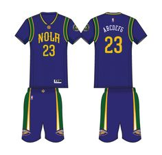 a3faa731a New Orleans Pelicans Alternate Uniform 2016- Present New Orleans Pelicans