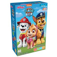 Paw Patrol Party, Paw Patrol Birthday, Fruits For Kids, Kids Fruit, Welches Fruit Snacks, Pastel Candy, Kids Room Furniture, School Lunch Box, Fruit Puree