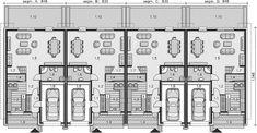Projekt domu Bradfield DCS25 143,62 m2 - koszt budowy 246 tys. zł - EXTRADOM House On Stilts, House Roof, Sherwin William Paint, Terrace Design, Apartment Plans, Town House, Small House Design, Paint Colors, Home Goods