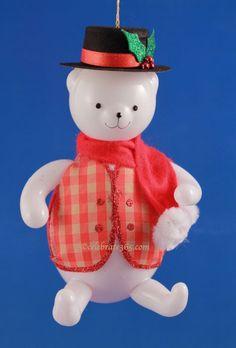 Cuddly Holly-Day Bear