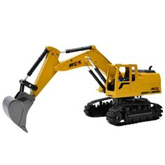 Remote Control Car Engineering 4 Shovelloader Excavator Charging RC Excavator And Light Electronic Toy Model Toy Story 3, Rc Trucks, Remote Control Cars, Electronic Toys, Car Engine, Toy Sale, Health And Safety, Engineering, Children Toys