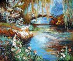 """Képtalálat a következőre: """"ručne maľované obrazy krajinky"""""""
