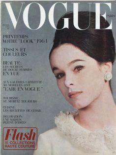 Geraldine Chaplin, photo Jean-Jacques Bugat, Vogue Paris, 1964
