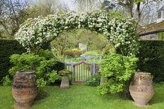 Highgrove Garden in the spring