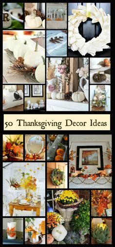 50 Beautiful Ideas for Thanksgiving Decor @Hometalk
