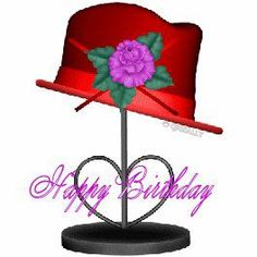 birthday hat stand
